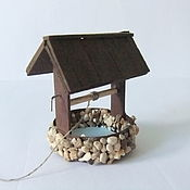 Куклы и игрушки handmade. Livemaster - original item Mini well for Dollhouse miniatures. Handmade.