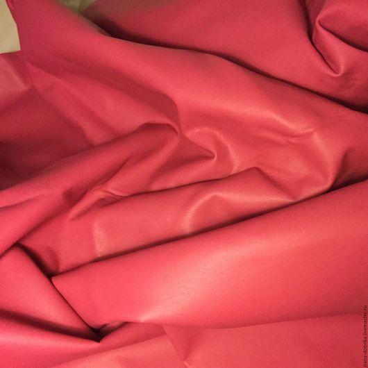 Текстиль, ковры ручной работы. Ярмарка Мастеров - ручная работа. Купить Искусственная кожа. Handmade. Ярко-красный, искусственная кожа