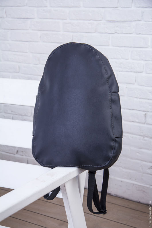 Рюкзаки ручной работы. Ярмарка Мастеров - ручная работа. Купить Темно-серый рюкзак. Handmade. Темно-серый, серый рюкзак