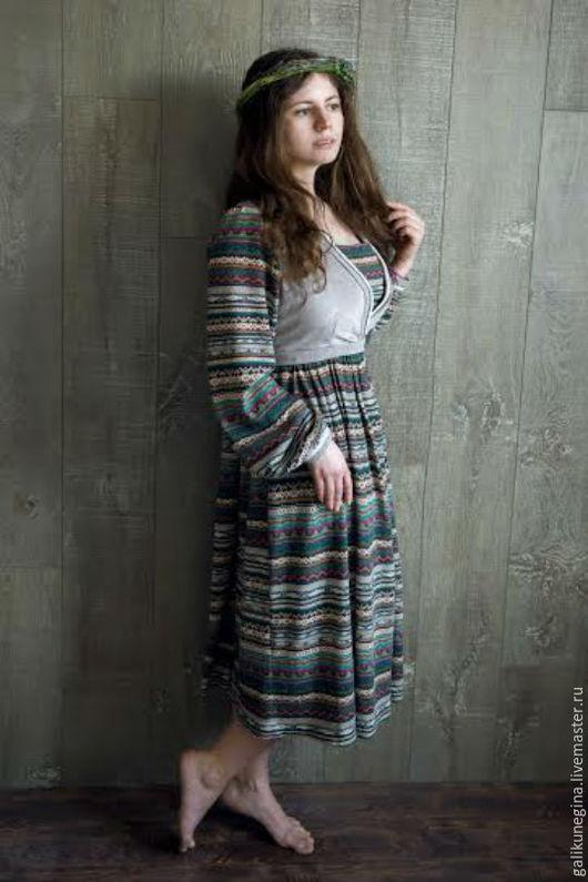 """Платья ручной работы. Ярмарка Мастеров - ручная работа. Купить Платье """"Финский вечер"""". Handmade. Платье, бохо, одежда для женщин"""