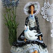 Куклы и игрушки ручной работы. Ярмарка Мастеров - ручная работа кукла в стиле Тильда-Анна-Мария.. Handmade.