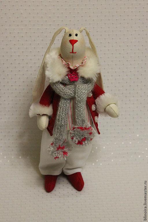 Куклы Тильды ручной работы. Ярмарка Мастеров - ручная работа. Купить заяц Феликс. Handmade. Отличный подарок, заяц тильда