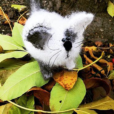 Куклы и игрушки ручной работы. Ярмарка Мастеров - ручная работа Сердечный котенок. Handmade.