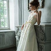 Необычное платье на корсете.