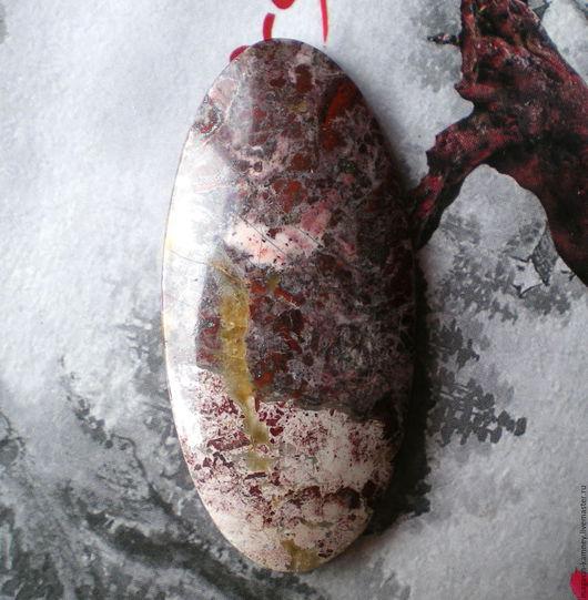 Для украшений ручной работы. Ярмарка Мастеров - ручная работа. Купить Яшма 64 , кабошон. Handmade. Кабошон, кабошон из камня