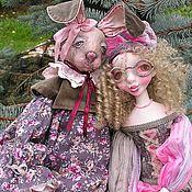 Куклы и игрушки ручной работы. Ярмарка Мастеров - ручная работа Будуарная Зая.... Handmade.