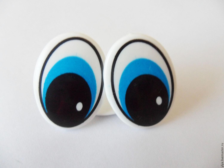 Глаза у игрушки