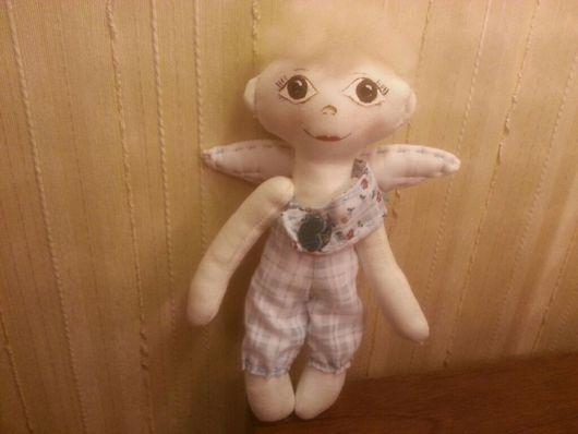 Коллекционные куклы ручной работы. Ярмарка Мастеров - ручная работа. Купить Ангелочки ручной работы Ляля и Лелик. Handmade.