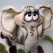 """Куклы и игрушки ручной работы. Ярмарка Мастеров - ручная работа Слоняша """"Муся"""". Handmade."""