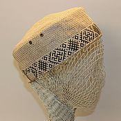 Одежда ручной работы. Ярмарка Мастеров - ручная работа Летняя шапочка-таблетка. Handmade.