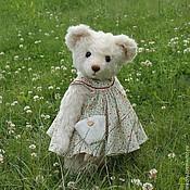 Куклы и игрушки ручной работы. Ярмарка Мастеров - ручная работа Авторская мишка Полли (Summer girl). Handmade.