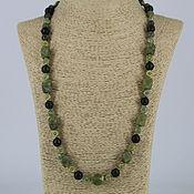 Украшения handmade. Livemaster - original item Beads from natural stones ( coil, aventurine). Handmade.
