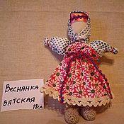 Куклы и игрушки ручной работы. Ярмарка Мастеров - ручная работа кукла ВЕСНЯНКА ВЯТСКАЯ. Handmade.