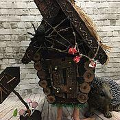 """Куклы и игрушки ручной работы. Ярмарка Мастеров - ручная работа """"Ежкин дом !). Handmade."""