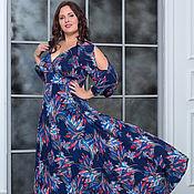 Платья ручной работы. Ярмарка Мастеров - ручная работа Вечернее платье Ромелла жар птица. Handmade.