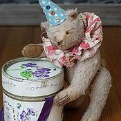 Куклы и игрушки ручной работы. Ярмарка Мастеров - ручная работа Мишка `Олле (13 см сидя). Handmade.
