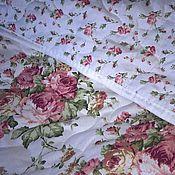 """Пледы ручной работы. Ярмарка Мастеров - ручная работа Покрывало на кровать 100% хлопок """"Розы"""". Handmade."""