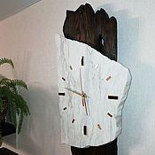 Часы классические ручной работы. Ярмарка Мастеров - ручная работа Часы настенные мраморные. Handmade.
