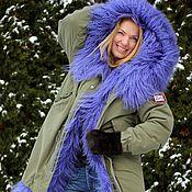 Одежда handmade. Livemaster - original item Jacket parka, fur lined. Handmade.