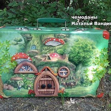 Dolls & toys handmade. Livemaster - original item Suitcase - house of pelyte. Handmade.