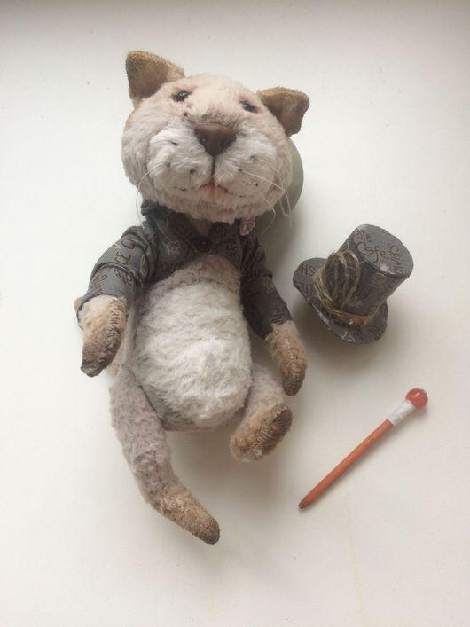 Мишки Тедди ручной работы. Ярмарка Мастеров - ручная работа. Купить Кот Кристоф. Handmade. Коты и кошки, замечательный подарок