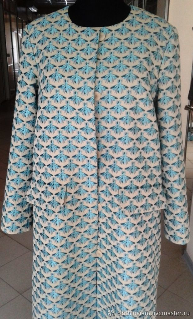 Coat summer jacquard fabric gucci shop online on for Outer cloth