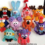 Куклы и игрушки ручной работы. Ярмарка Мастеров - ручная работа Вязаные игрушки на заказ. Handmade.