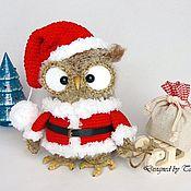 Куклы и игрушки ручной работы. Ярмарка Мастеров - ручная работа Рождественская сова Фестетта. Handmade.