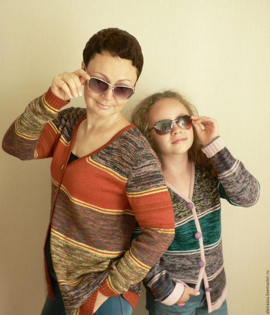 """Кофты и свитера ручной работы. Ярмарка Мастеров - ручная работа. Купить Проект """"Family Look"""". Handmade. Фэмили лук"""