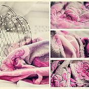 """Для дома и интерьера ручной работы. Ярмарка Мастеров - ручная работа Детский пледик """"Розовые сны"""". Handmade."""