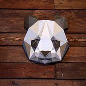 Для дома и интерьера ручной работы. Ярмарка Мастеров - ручная работа Панда, деревянная вывеска. Handmade.