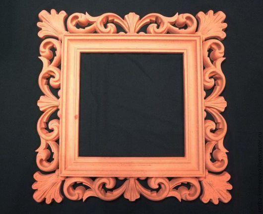 Зеркала ручной работы. Ярмарка Мастеров - ручная работа. Купить Рама для зеркала, заготовка для декорирования из МДФ. Handmade. Рама для зеркала