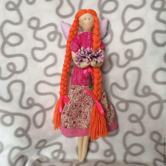 """Куклы Тильды ручной работы. Ярмарка Мастеров - ручная работа. Купить Кукла Тильда """"Майский ангел"""". Handmade. Розовый"""