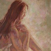 Картины и панно ручной работы. Ярмарка Мастеров - ручная работа Картина «Японочка». Handmade.