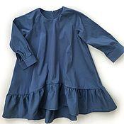 Платья ручной работы. Ярмарка Мастеров - ручная работа Платье Волна. Handmade.