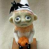 Привидение. Хэллоуин.  Авторская кукла. Кукла ручной работы
