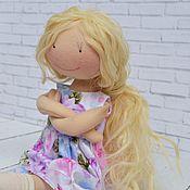 Куклы и игрушки ручной работы. Ярмарка Мастеров - ручная работа Лика. Кукла игровая. Кукла с одеждой. Handmade.