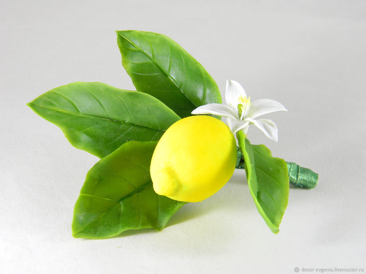 Yellow Lemon Boutonniere, Boutonnieres, Moscow,  Фото №1