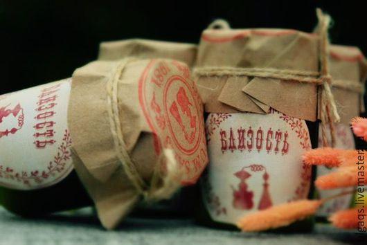 """Масла и смеси ручной работы. Ярмарка Мастеров - ручная работа. Купить Бальзам """" Близость"""".. Handmade. Бордовый, экстракты"""