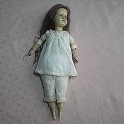 Куклы и игрушки ручной работы. Ярмарка Мастеров - ручная работа Комплект нижнего белья для антикварной куклы.. Handmade.