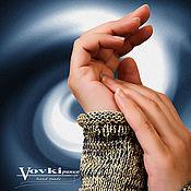 Одежда ручной работы. Ярмарка Мастеров - ручная работа Туника летняя вязаная, вискоза, хлопок, меланж. Handmade.