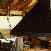 Для дома и интерьера ручной работы. Ярмарка Мастеров - ручная работа Открытый камин-барбекю. Handmade.