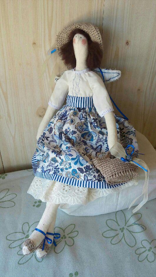 Куклы Тильды ручной работы. Ярмарка Мастеров - ручная работа. Купить Кукла-тильда Воспоминание о лете. Handmade.