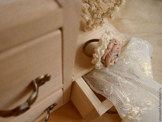 """Кольца ручной работы. Ярмарка Мастеров - ручная работа. Купить Кольцо""""Цветок ангела"""". Handmade. Бежевый, купить кольцо, хлопок американский"""