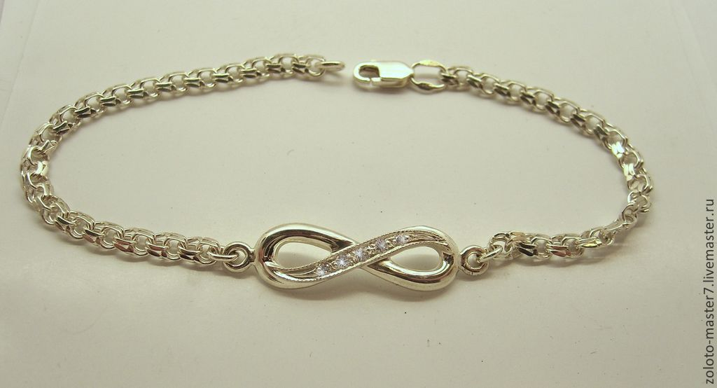 Bracelet 'Infinity', Bead bracelet, Chaikovsky,  Фото №1