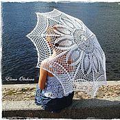 Аксессуары ручной работы. Ярмарка Мастеров - ручная работа Ажурный зонт. Handmade.