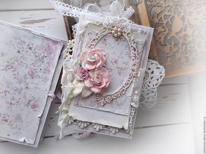 Свадебная открытка своими руками в стиле шебби-шик 8