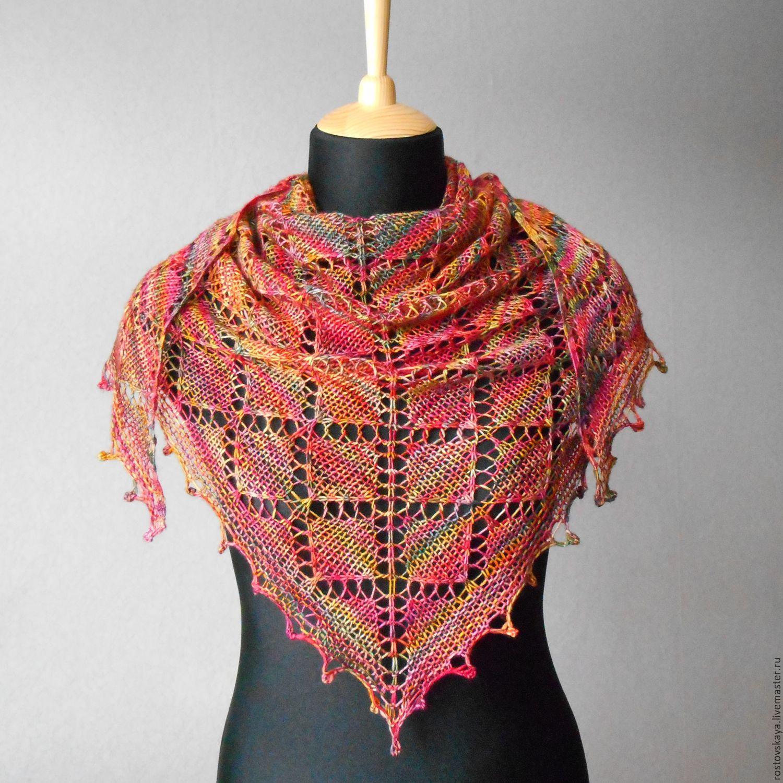 Вязание шали инструкция