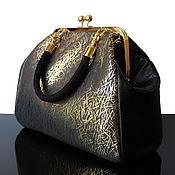 Сумки и аксессуары handmade. Livemaster - original item Leather black bag. Handmade.