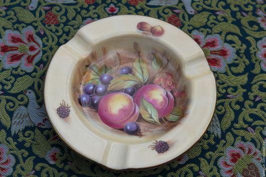 Винтажная посуда. Ярмарка Мастеров - ручная работа. Купить Винтажное Фарфоровое блюдце,Aynsley,Англия. Handmade. Фарфор, пепельница, Блюдце